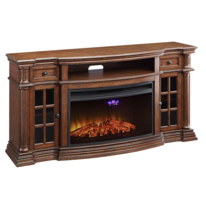 Fireplace Design sams club fireplace : Sam's Club - Richmond Electric Fireplace Media Console with Wi-Fi