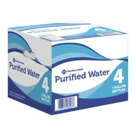 Member's Mark Purified Water (1 gal./4 pack)