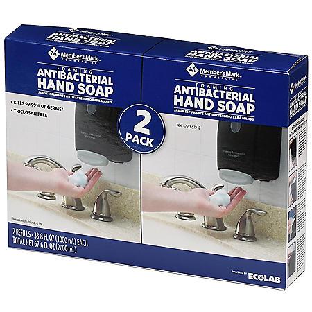 Member's Mark Commercial Foaming Antibacterial Hand Soap (2 pk.)