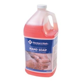 Member's Mark Commercial Antibacterial Hand Soap, 1 gal. (Choose Pack Size)