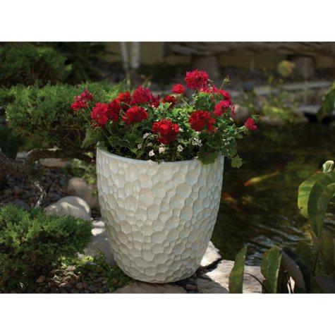 Member's Mark White Ceramic Planter