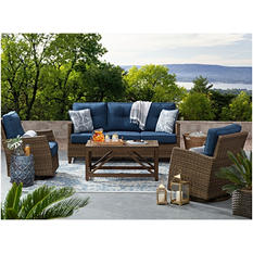 Members Mark Agio Collection Fremont Seating Set (Indigo)
