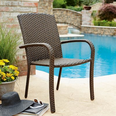 Member's Mark Heritage Woven Stacking Chair (4 pk.)