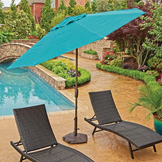 Member's Mark Premium 10' Market Umbrellas, Assorted Colors