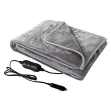 Member Mark 12V Plush Heated Travel Blanket