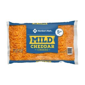 Member's Mark Mild Cheddar Shredded Cheese (5 lbs.)