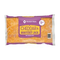 Member's Mark Mild Cheddar and Monterey Jack Fancy Shredded Cheese (5 lbs.)