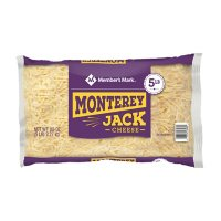 Member's Mark Monterey Jack Shredded Natural Cheese (5 lbs.)