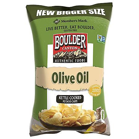 Member's Mark Olive Oil Kettle Cooked Potato Chips (24 oz.)