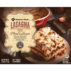 Member's Mark Lasagna with Meat and Sauce (96 oz.)