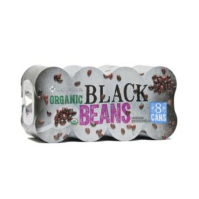 Member's Mark Organic Black Beans (15 oz., 8 ct.)