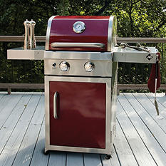 Member's Mark Two-Burner Gas Grill, Red