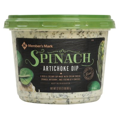 Member S Mark Spinach Artichoke Dip 32 Oz Sam S Club