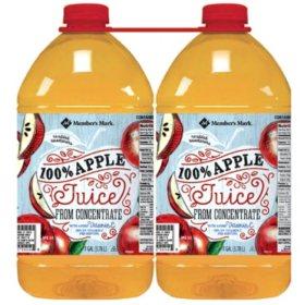 Member's Mark 100% Apple Juice (1 gal., 2 pk.)