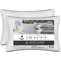 Hotel Premier Collection by Member's Mark Bed Pillows, 2 Pack (Assorted Sizes)