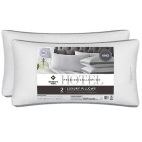 Hotel Premier Collection King Pillow by Member's Mark, 2 Pack