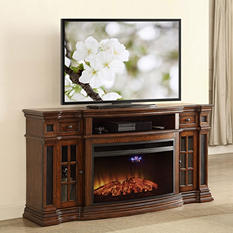 Member's Mark Richmond Smart Electric Fireplace and Media Entertainment Mantel with Built in Speakers