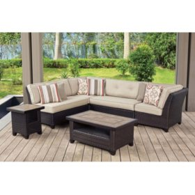 Members Mark Agio Collection Heritage Sectional Seating Set