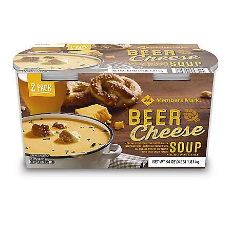 Member's Mark Beer Cheese Soup (32 oz. tub, 2 pk.)