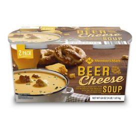 Member's Mark Beer Cheese Soup (32 oz. tub, 2 pk.)