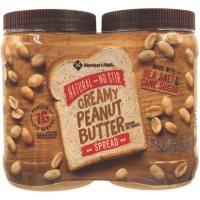 Member's Mark Natural No Stir Creamy Peanut Butter Spread (40 oz., 2 ct.)