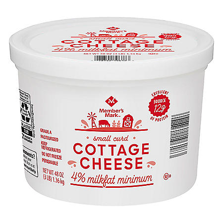 Member's Mark 4% Cottage Cheese (3 lbs.)