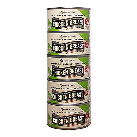 Member's Mark Premium Chunk Chicken Breast (12.5 oz., 5 pk.)