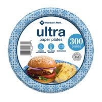 """Member's Mark Ultra Lunch Paper Plates (8.5"""", 300 ct.)"""