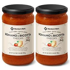 Member's Mark Romano Pasta Sauce (24 oz. ea., 2 pk.)