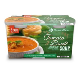 Member's Mark Organic Tomato Basil Soup (32 oz. tubs, 2 pk.)