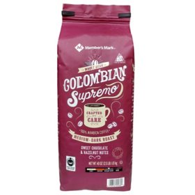 Member's Mark Colombian Supremo Whole Bean Coffee (40 oz.)
