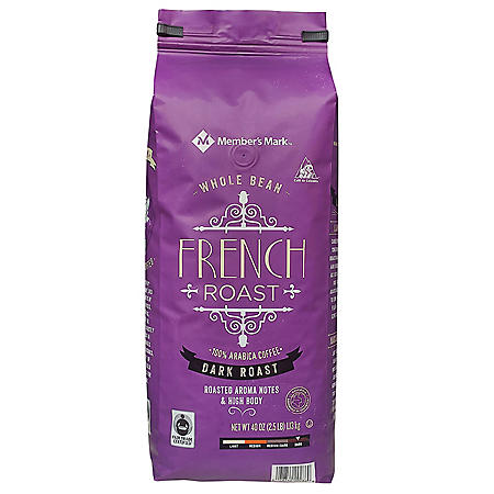 Member's Mark French Roast Whole Bean Coffee (40 oz.)
