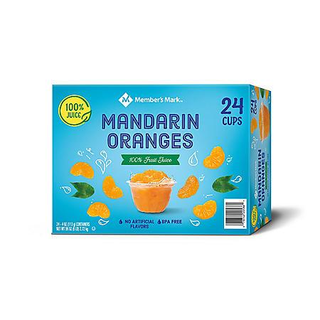 Member's Mark Mandarin Oranges (4 oz., 24 ct.)