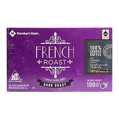 Member's Mark French Roast Coffee (100 single-serve cups)