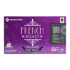 Member's Mark French Roast Coffee (100 single-serve cups)