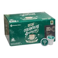 Member's Mark Decaffeinated Colombian Coffee, Single-Serve Cups (80 ct.)