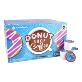 Member's Mark Donut Shop Coffee Single Serve Cups (100 ct.)