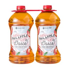 Member's Mark 100% Apple Juice (96oz / 2pk)