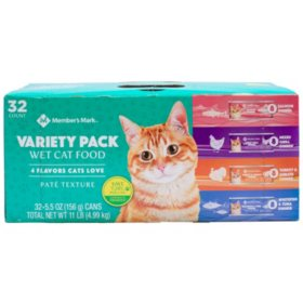 Member's Mark Wet Cat Food Variety Pack (5.5 oz., 32 ct.)