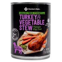 Member's Mark Grain Free Turkey & Vegetable Stew Premium Dog Food (13.2 oz., 24 ct.)