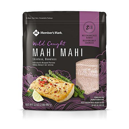 Member's Mark Mahi Mahi Portions, Frozen (32 oz.)