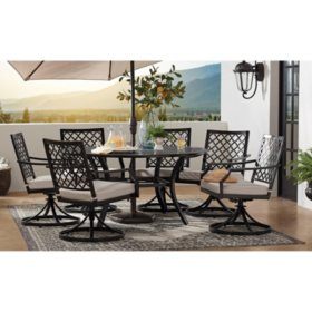 Member\'s Mark Barcelona 7-Piece Cushion Dining Set - Sam\'s Club