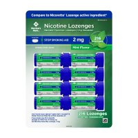 Member's Mark Nicotine Lozenge 2mg, Mint Flavor (27 ct., 8pk.)