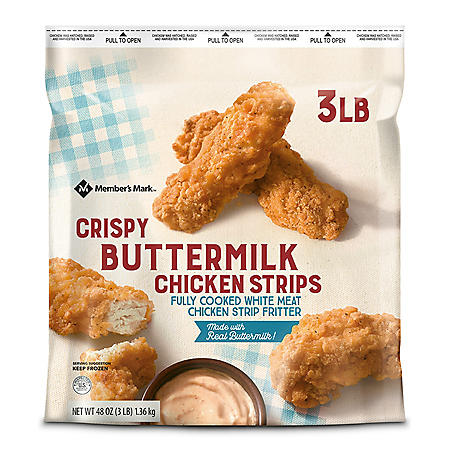 Member's Mark Buttermilk Chicken Strips, Frozen (3 lbs.)