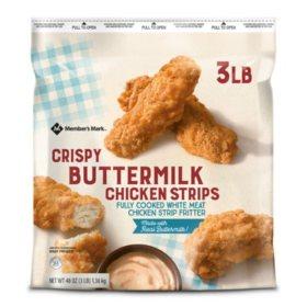Member's Mark Buttermilk Chicken Strips (3 lbs.)