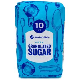 Member's Mark Granulated Sugar (10 lbs.)