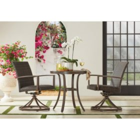 Member's Mark Agio Fremont 3-Piece Bistro Set
