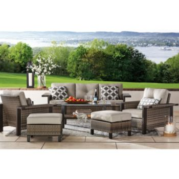 Member's Mark Agio Manchester 6-Piece Patio Deep Seating Set