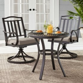 Member's Mark Harbor Hill 3-Piece Bistro Set