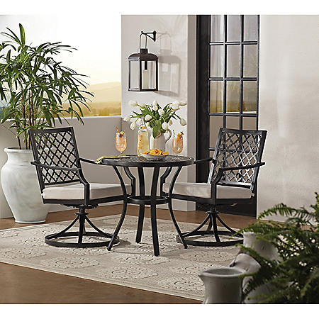 Member's Mark Barcelona 3-Piece Bistro Set